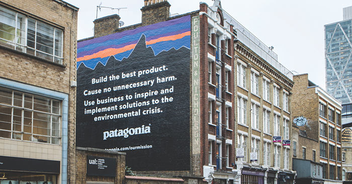 Patagonia's approach to the environment