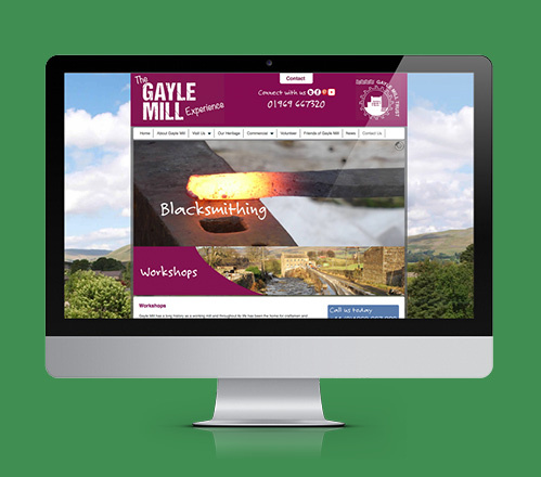 Gayle Mill Web Design