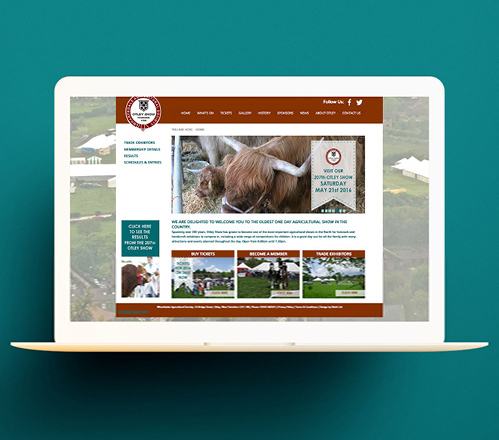 Otley Show Web Design and Social Media