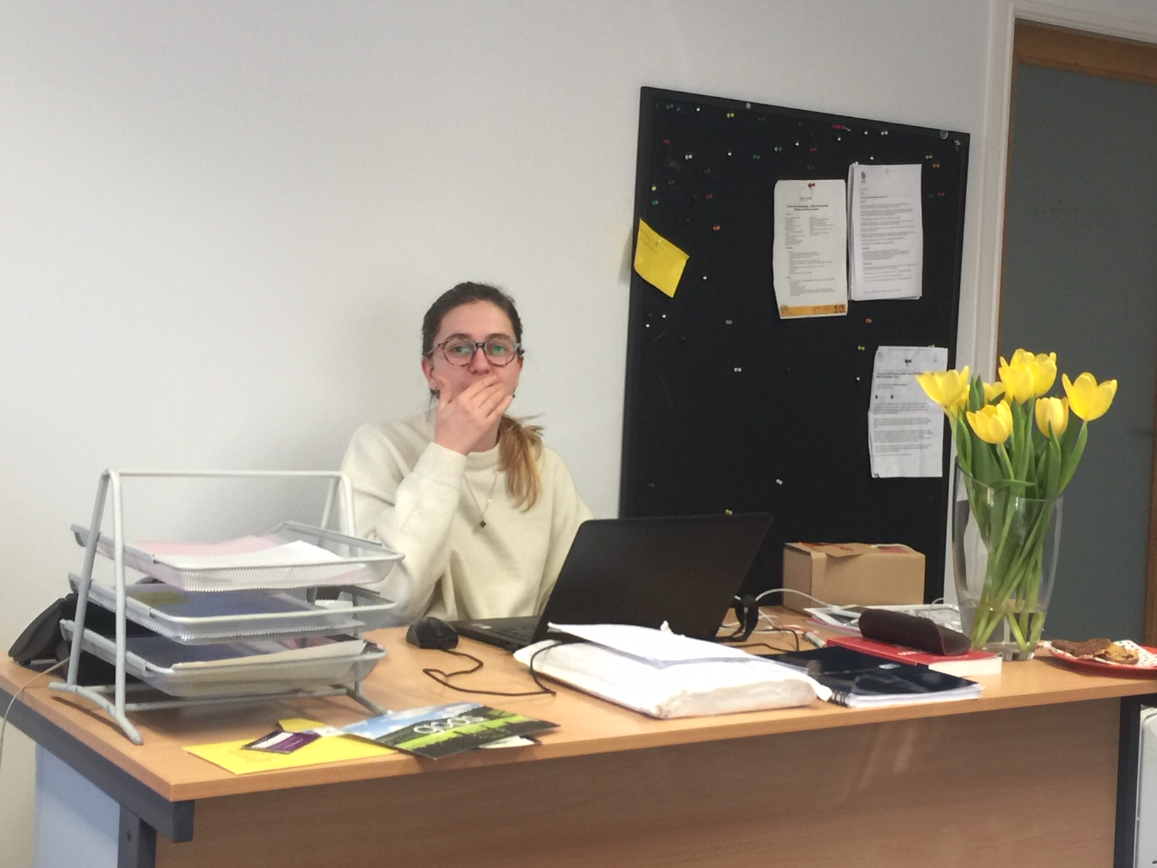 Lovely to see Marta from Quality Bearings Online in the office