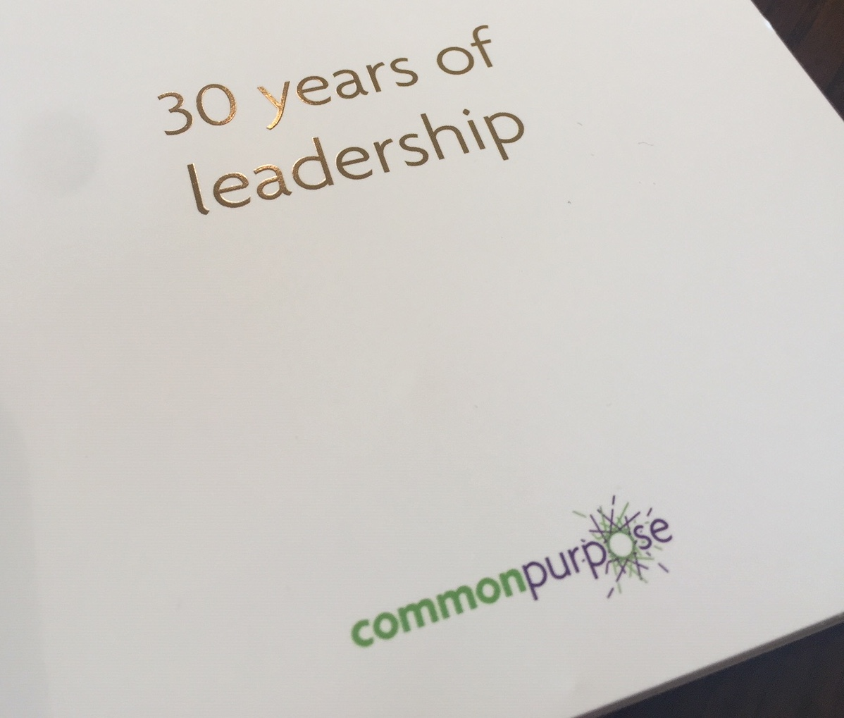 30th Anniversary of Common Purpose