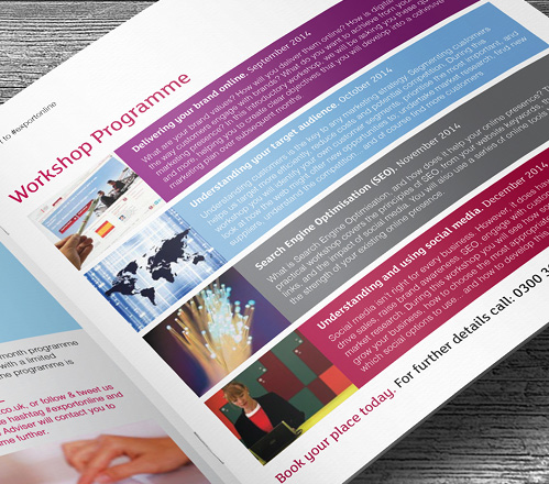 UK Trade & Investment Passport to export booklet workshop page