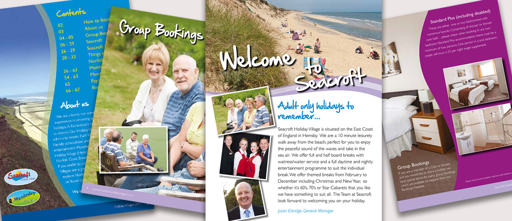 Richardsons Holidays Brochure Designs