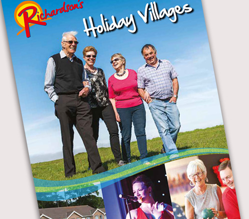 Richardsons Holidays Brochure Design